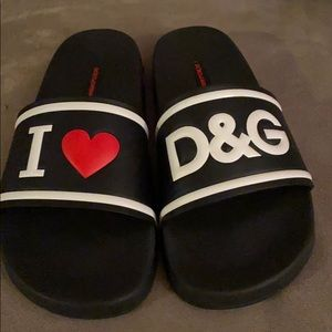 Authentic dolce and gabbana slides